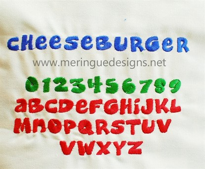 Picture of Cheeseburger Alphabet